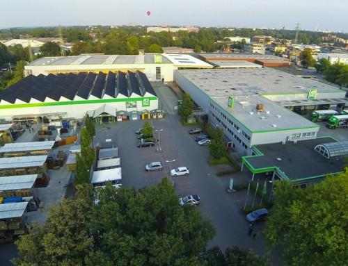 Luftbilder – A&J Holzzentrum Hamburg