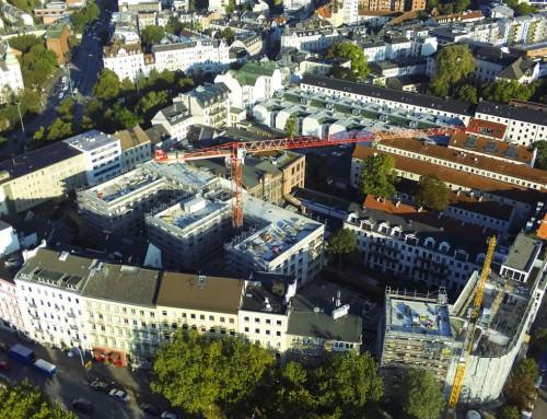 Baudokumentation – Luftbilder für Riedel Bau