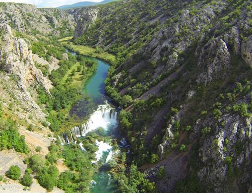 Wasserfall Zrmanja Kroatien