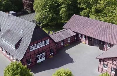 Luftaufnahmen Gestüt Fährhof