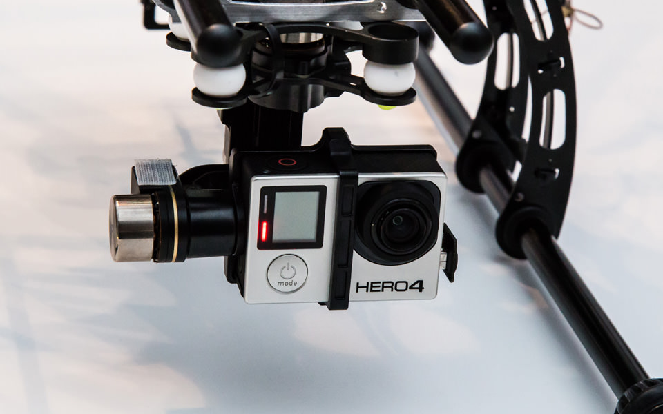 UPDATE: F550 + GoPro Hero 4 Black Edition