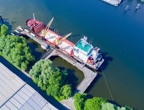 Krages Holzindustrie Hamburg – Luftbilder