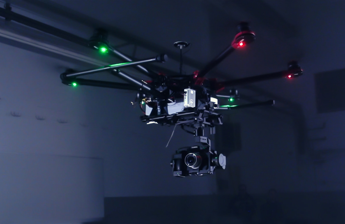 Luftaufnahmen Drohne - Hexacopter S900