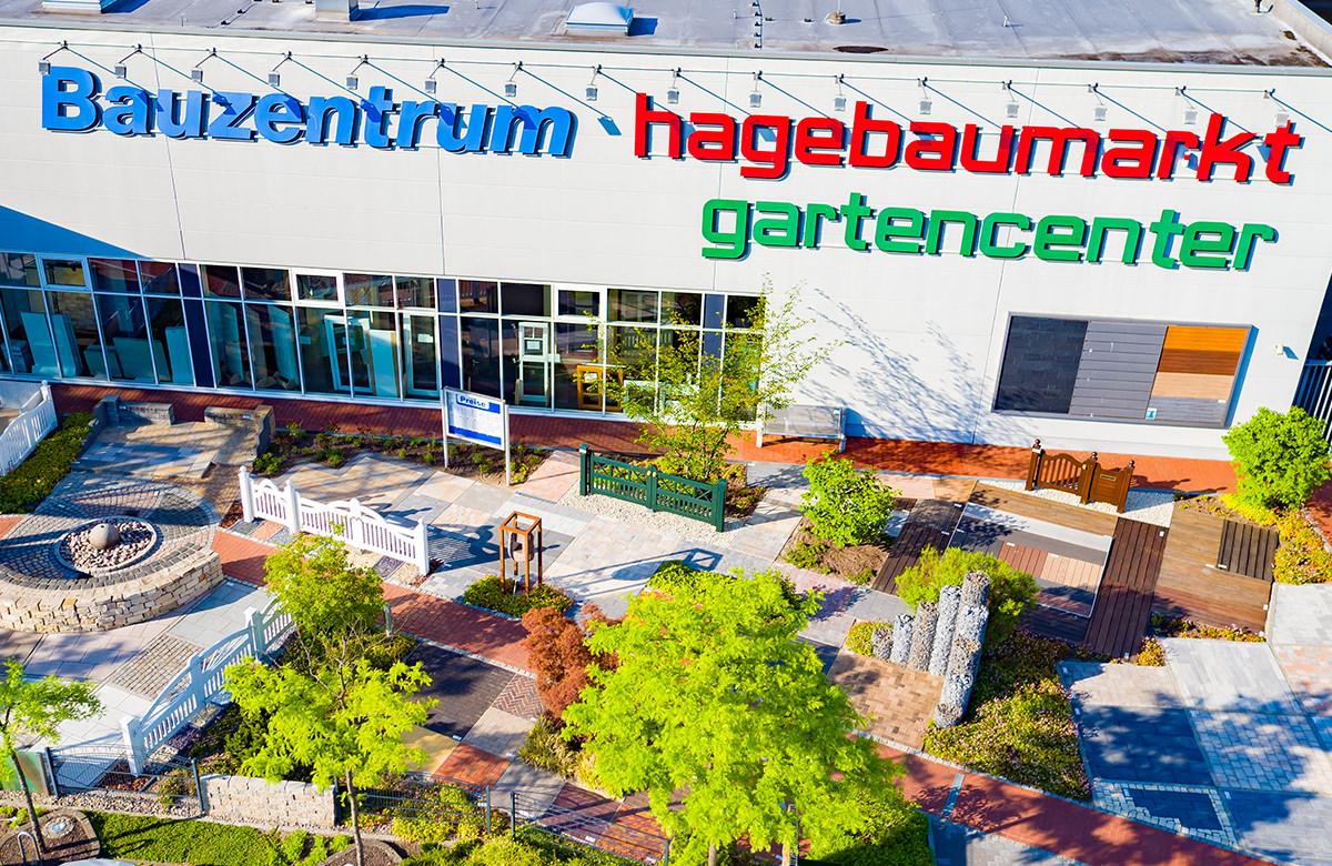 Luftbild Hagebaumarkt - Bauzentrum - Hamburg Drohne