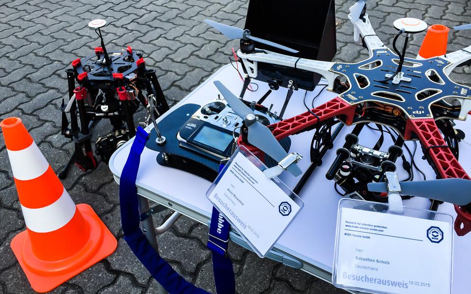 Luftbilder für die BODE Chemie GmbH