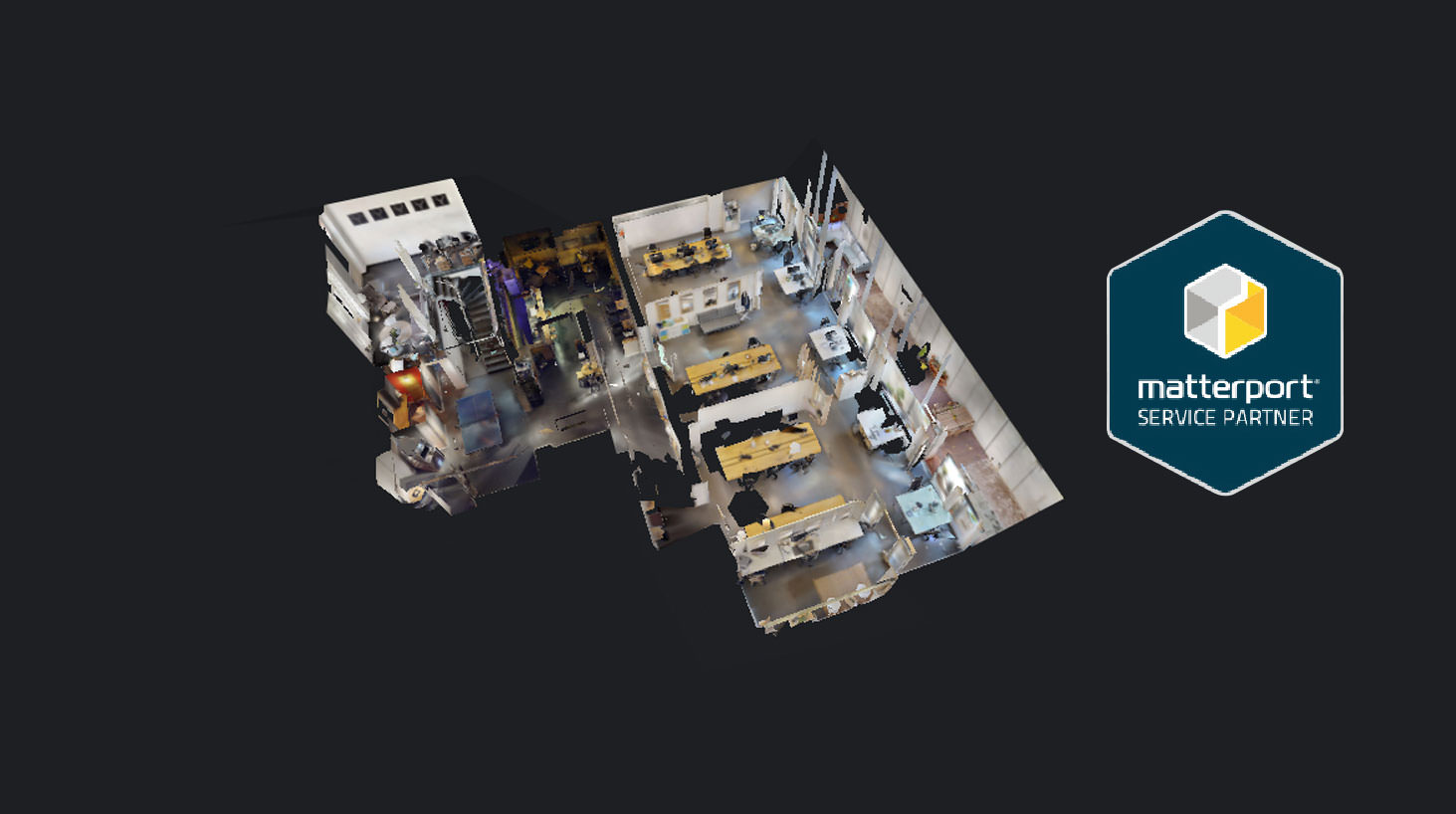 Matterport - 360 Grad Rundgaenge mit Luftbild Crew