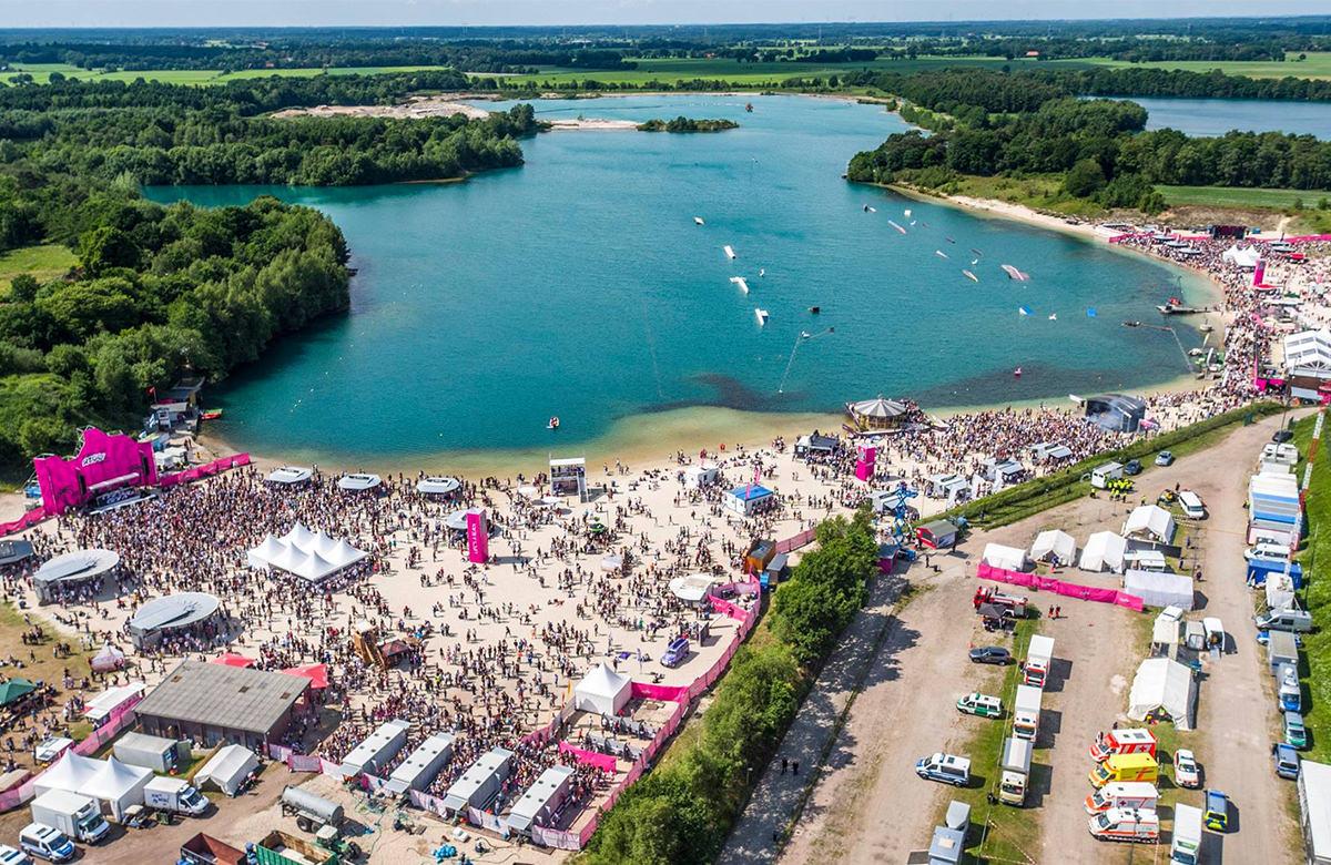 Oldenbora Festival 2017 - Luftbild Oldenburg Drohne