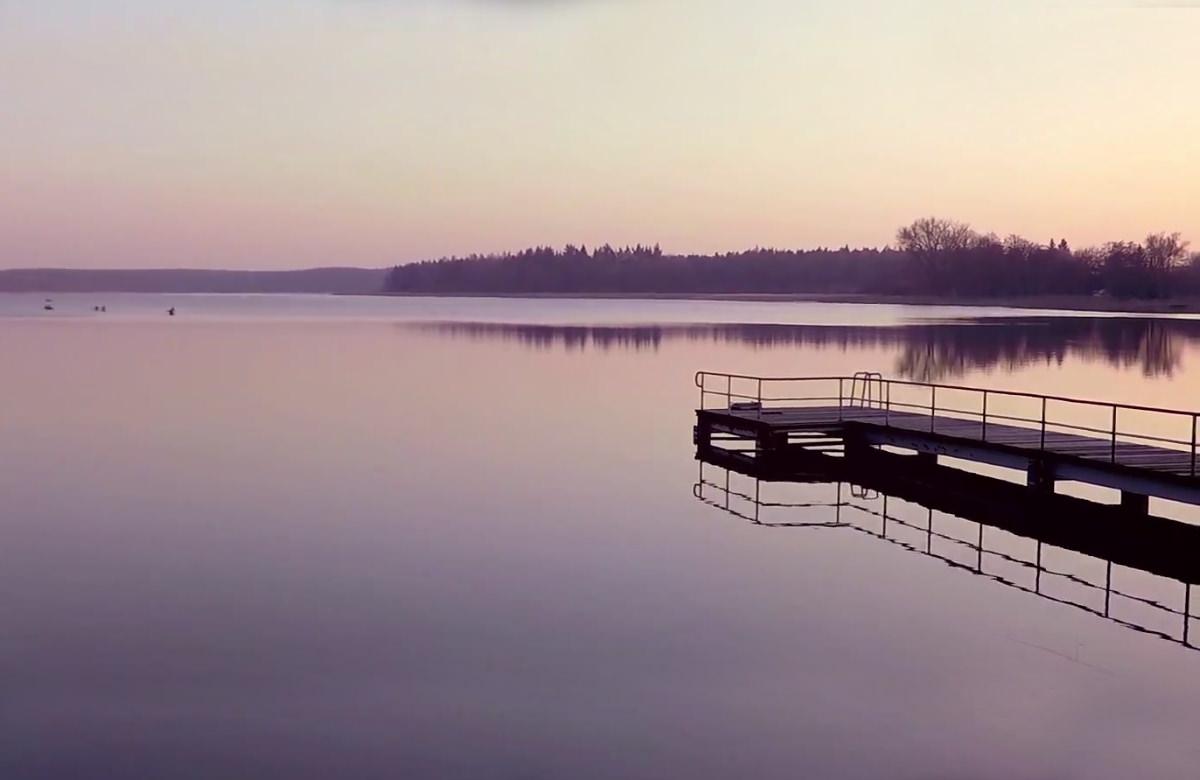 Schullandheim - Neukloster Dotkom - Imagevideo Dreharbeiten - Drohnenflug See